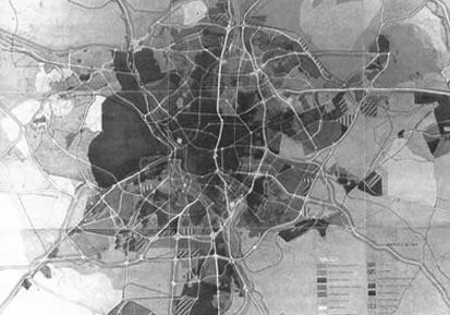 Plan General del Área Metropolitana de Madrid. 1963.