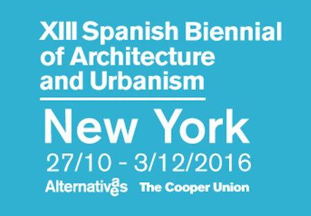 Alternativas/Alternatives - XIII Spanish Biennial of Architecture and Urbanism
