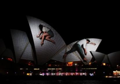 Sydney Opera House en movimiento
