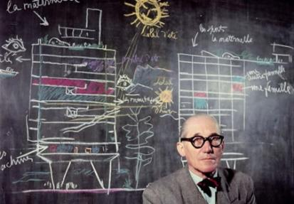 Le Corbusier by Willy Rizzo