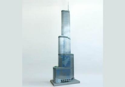 La Trump Tower con 65.000 piezas de LEGO